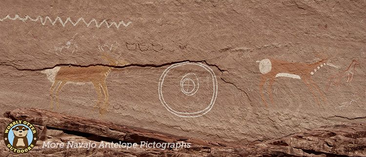 antelope pictographs at antelope house