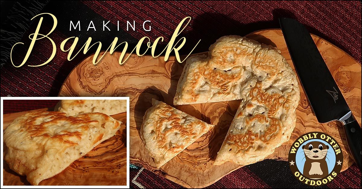Making Bannock - Fluffy Style