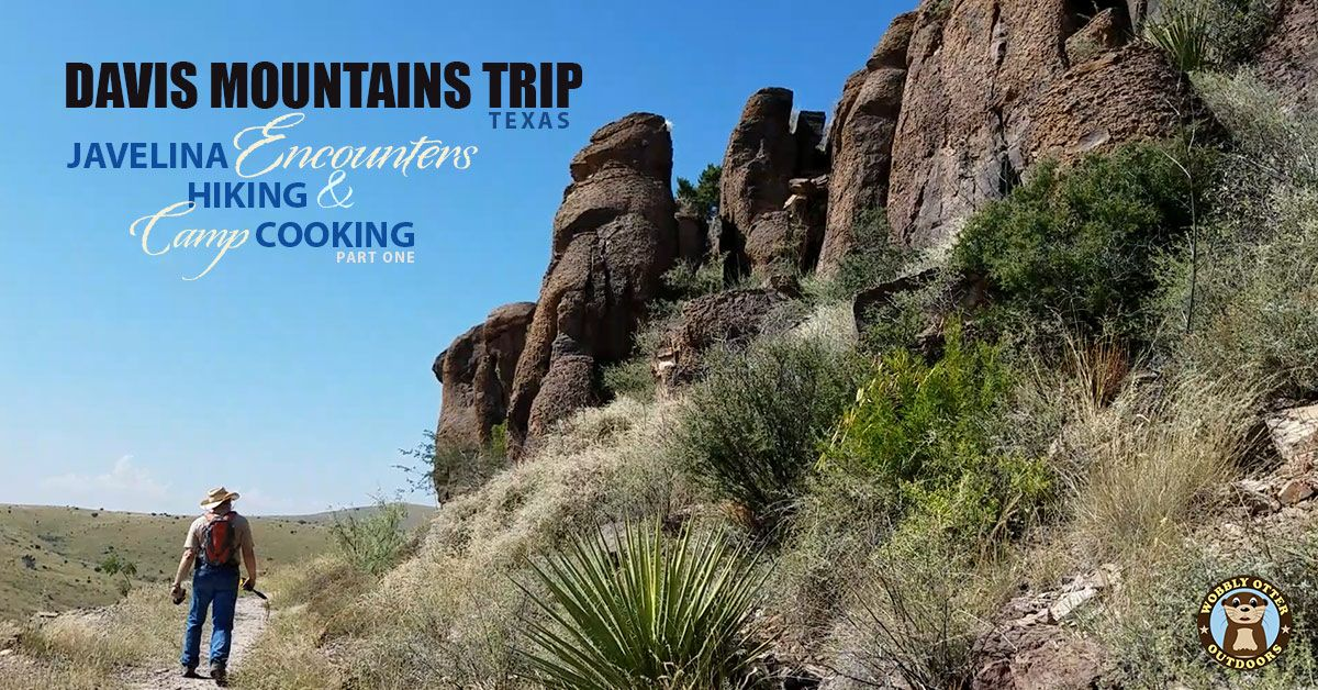 Camping & Hiking Davis Mountains State Park, Texas