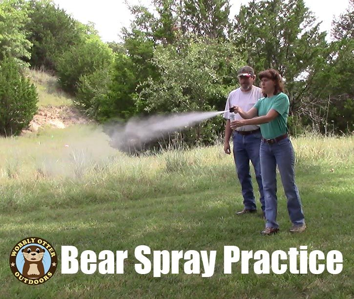 bear spray practice