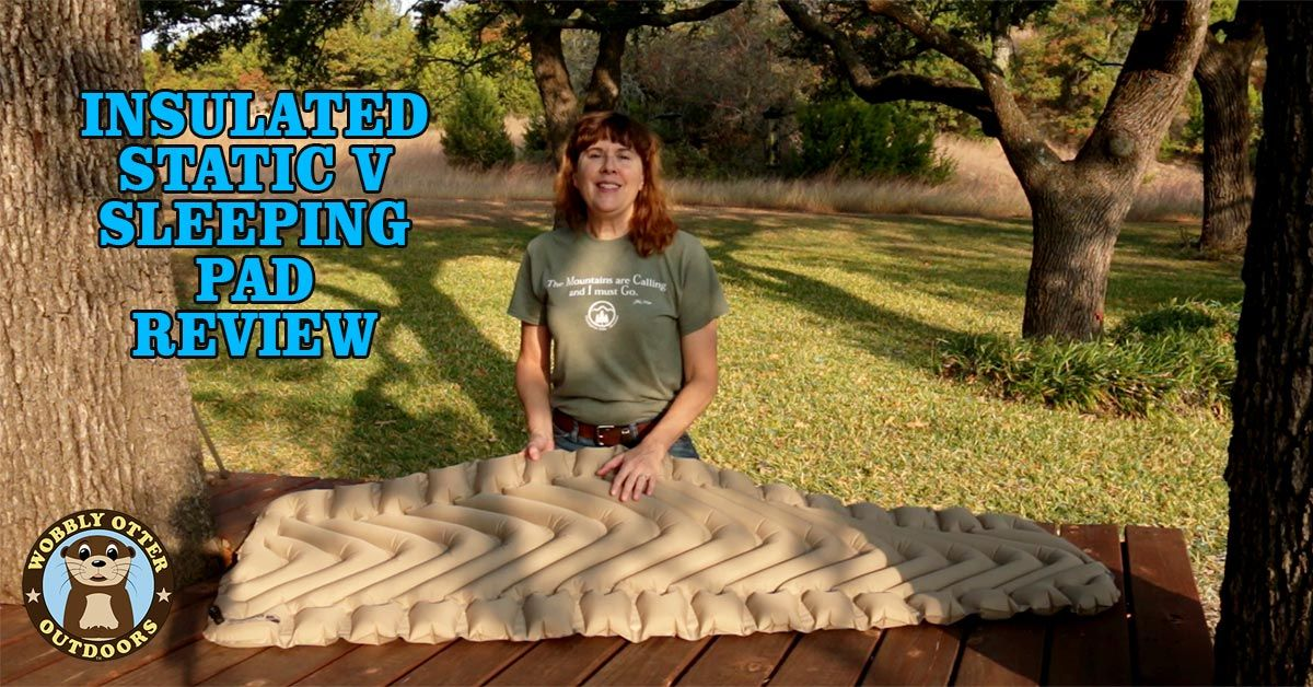 Klymit Insulated Static V Recon Sleeping Pad