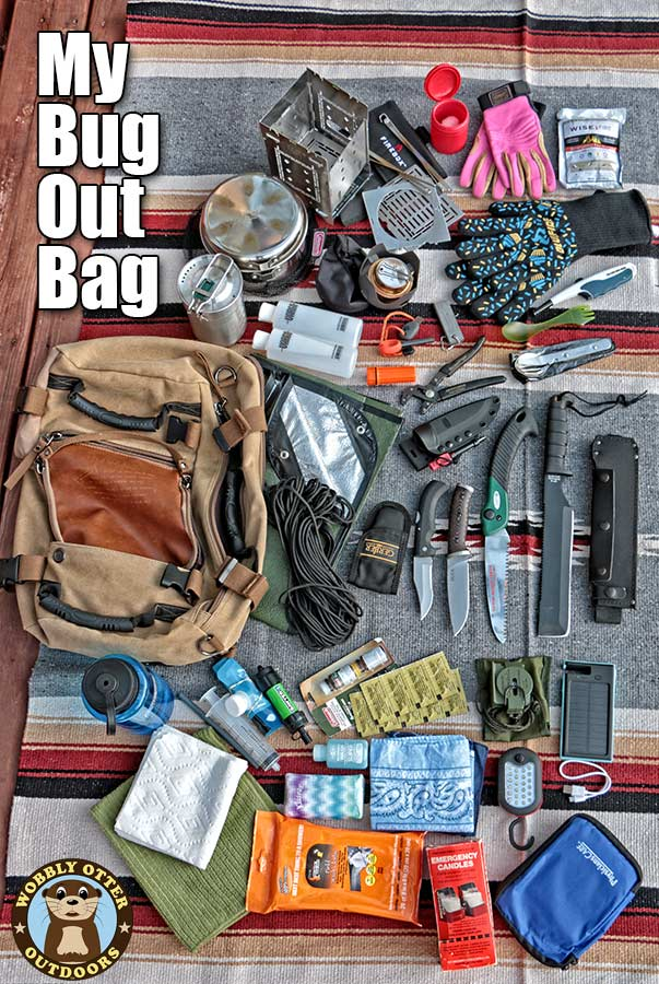 This is what's inside my bug out bag