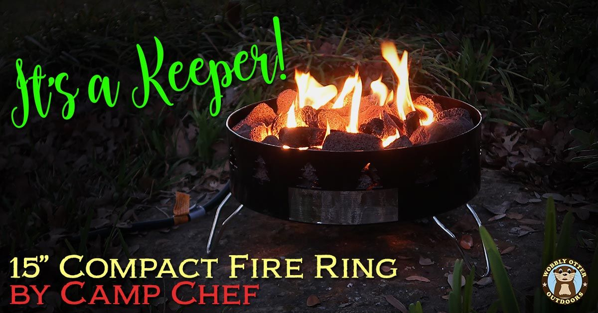 "Camp Chef 15"" Compact Propane Fire Ring"