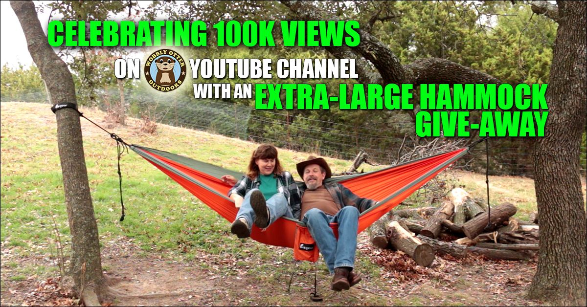 Amazon GiveAway 100k ChannelViews Double Hammock