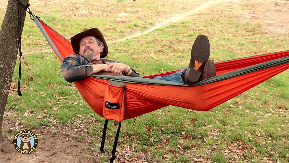 Bill in Bisgear Double Hammock Feb 2017