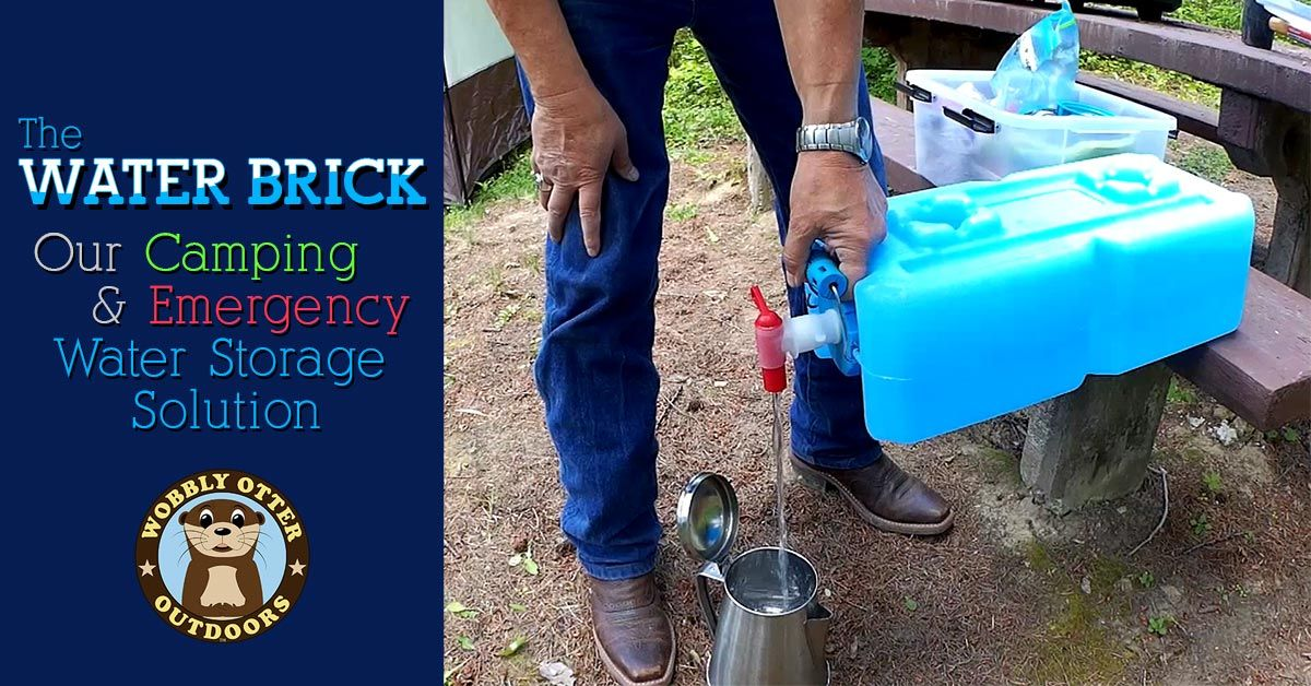 Water Brick - Our Camping & Emergency Water Storage Solution