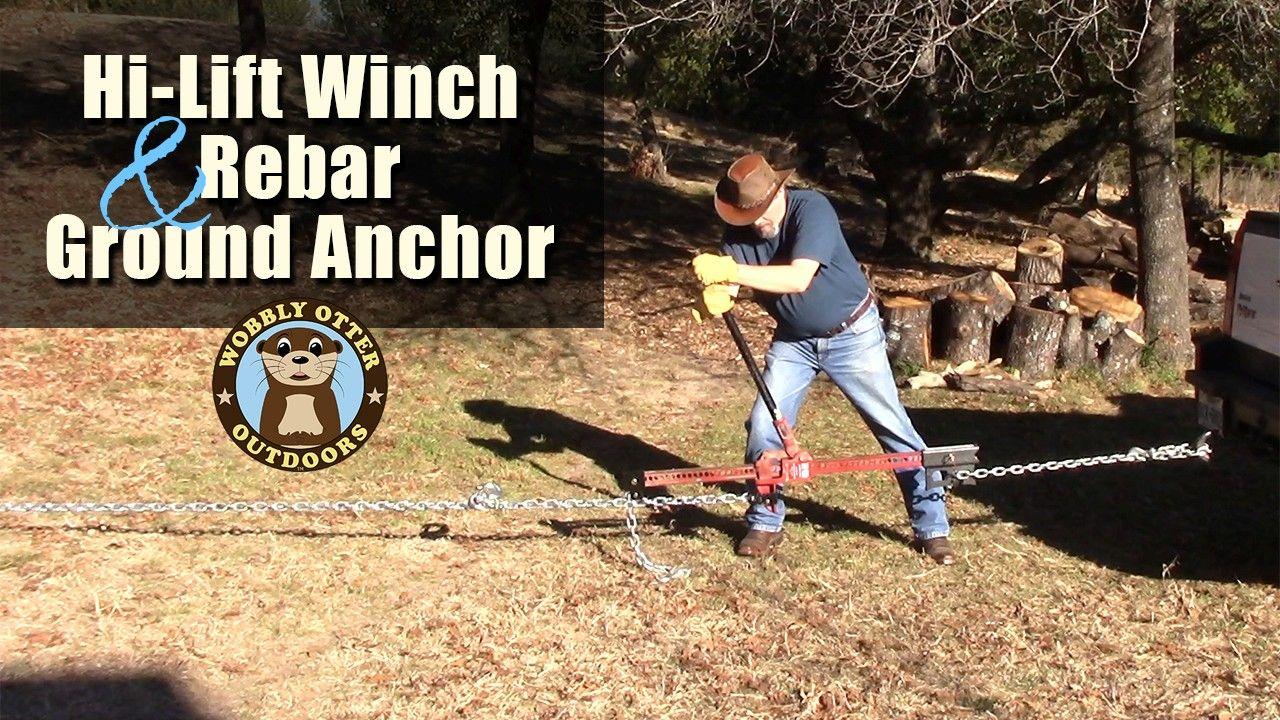 hi lift jack ground anchors