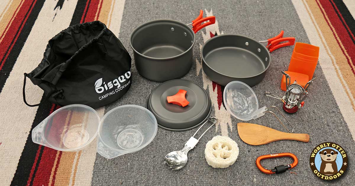 Bisgear Camp Cookware Set