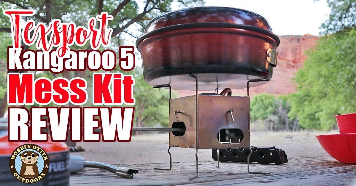 Texsport Kangaroo Mess Kit Revuew