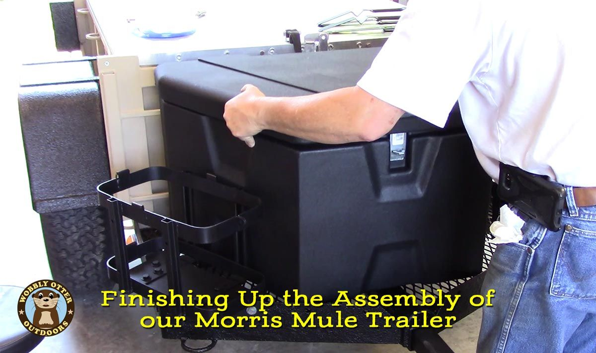 Completing Trailer Assembly - Morris Mule Trailer Makeover Part 4