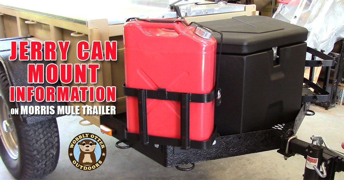 jerry can mount and bracket