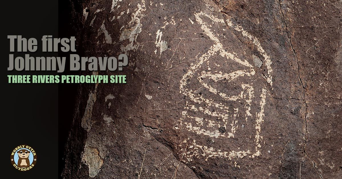 Three Rivers Petroglyphs Site - Johnny Bravo?