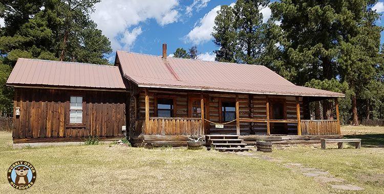 Valles Caldera NM Longmire Cabin