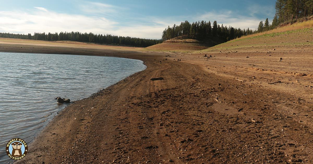 Dry Bank of the Phillips Resevoir, Oregon