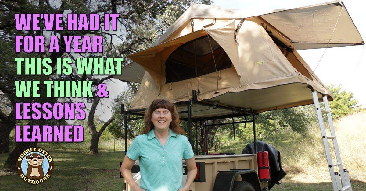 smittybilt rooftop tent 1year review