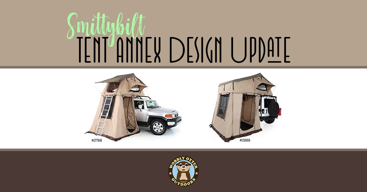 Smittybilt Tent Annex Design Changes