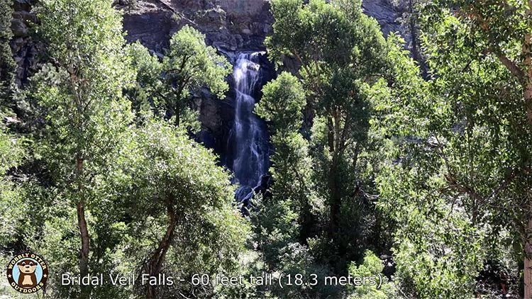 spearfish canyon bridal veil falls