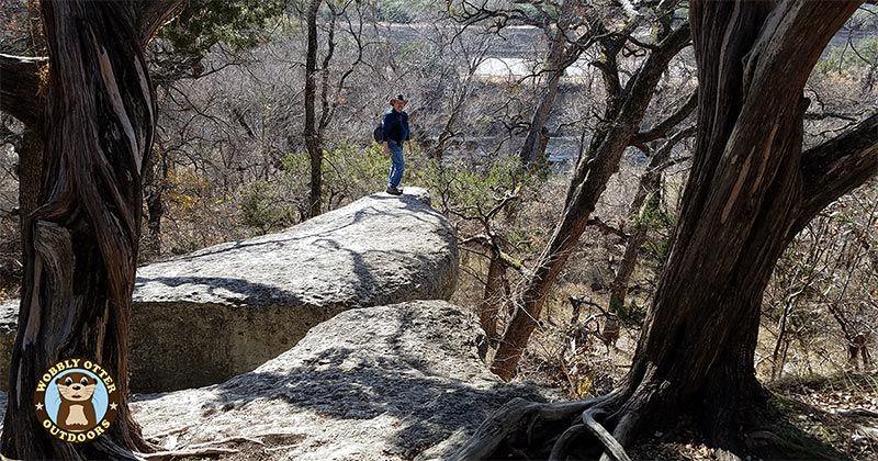 Hiking Dinosaur Valley State Park