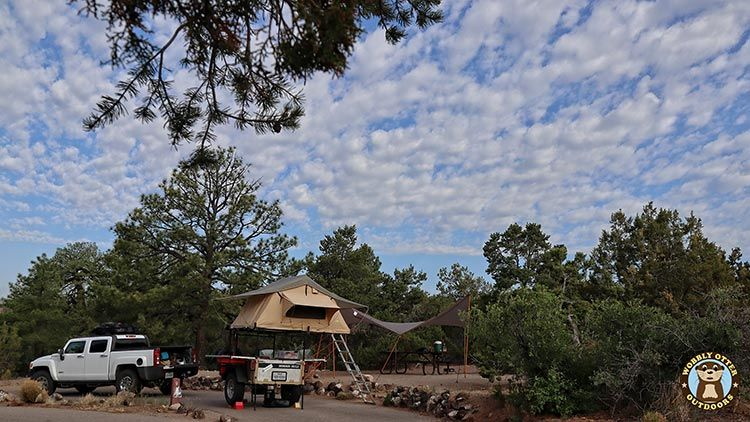 Our Camp at Bandelier
